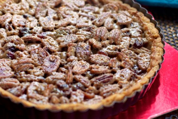 Pecan Bourbon Cream Tart by Angela Roberts