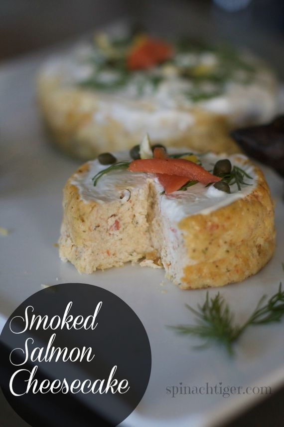 Smoked Salmon Cheesecake Appetizer by Angela Roberts
