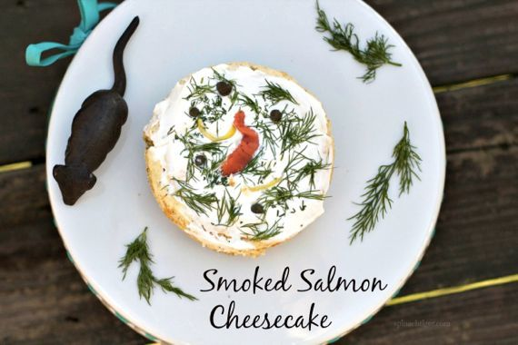 Savory Smoked Salmon Cheesecake Appetizer with Video