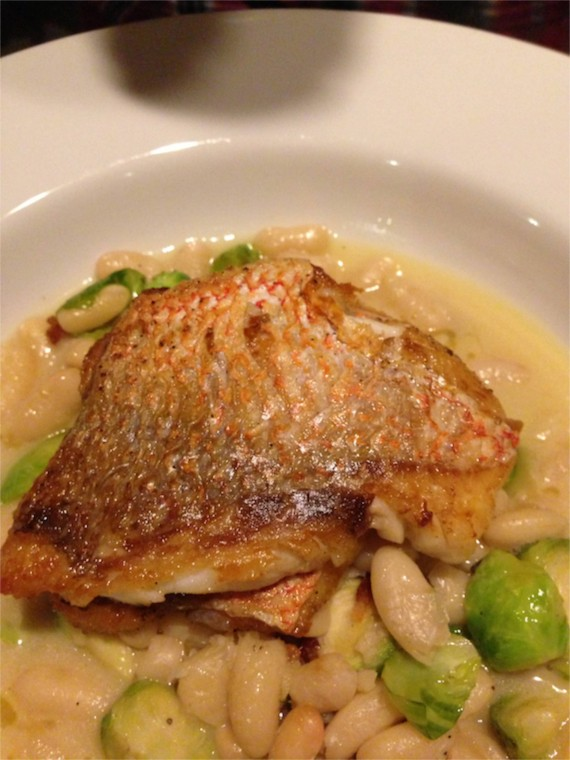 red snapper at 404 Kitchen in Nashville by Angela Roberts
