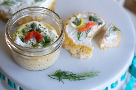 Smoked Salmon Cheesecake Appetizer