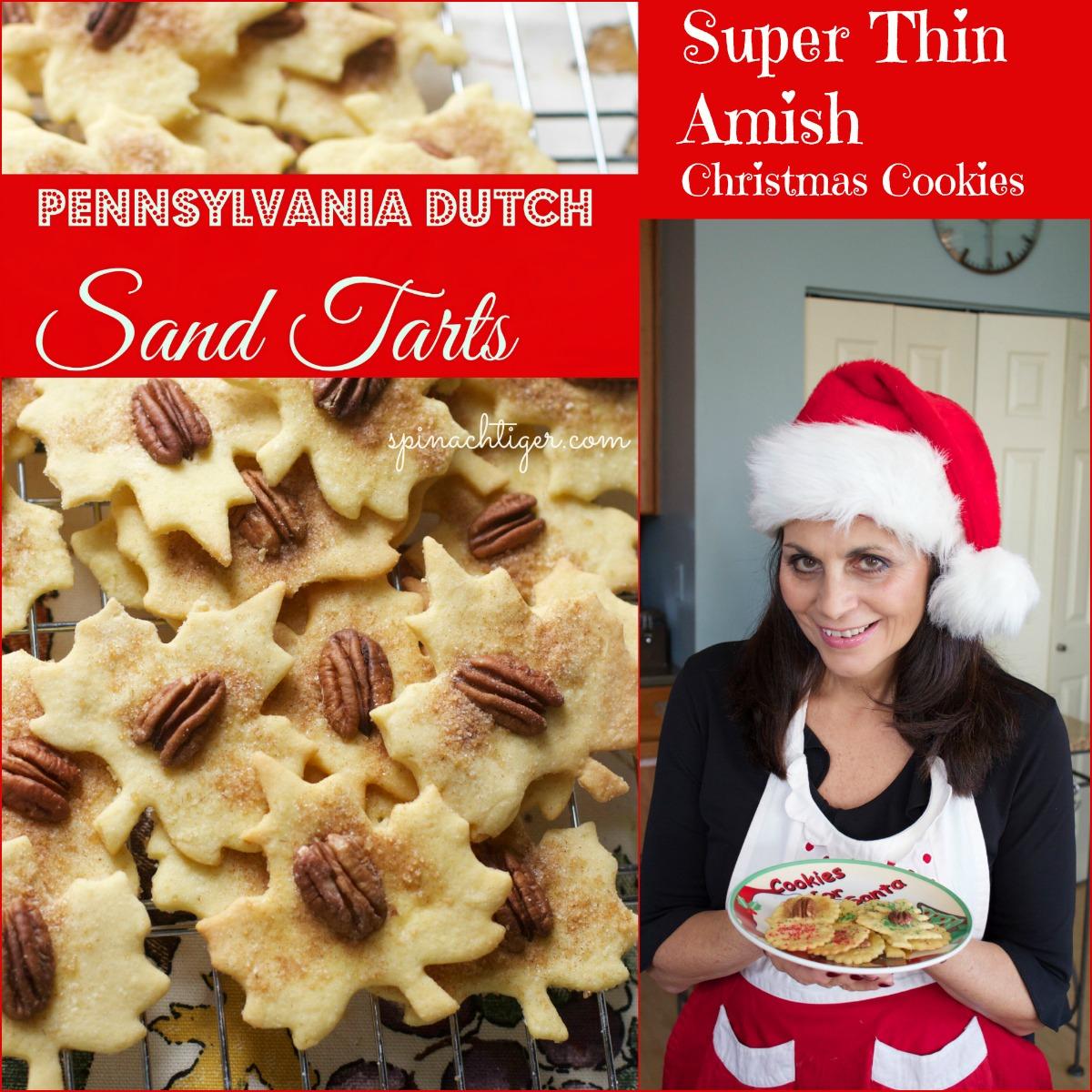 Pennsylvania Dutch Sand Tart by Angela Roberts