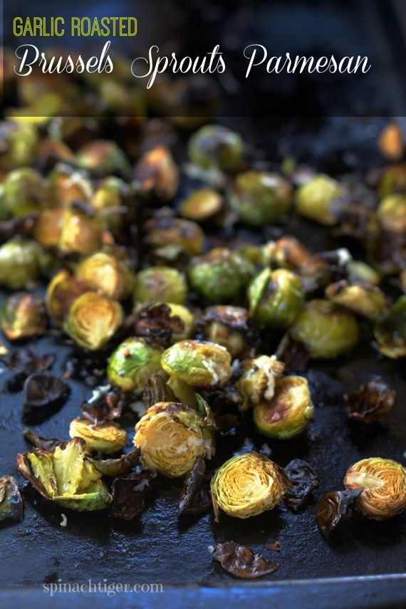 Garlic Roasted Brussels Sprouts Parmesan 2 by Angela Roberts