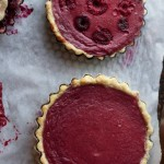 Raspberry Buttermilk Pie Two Ways by Angela Roberts
