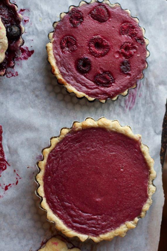Raspberry Buttermilk Pie Two Ways by Angela Roberts