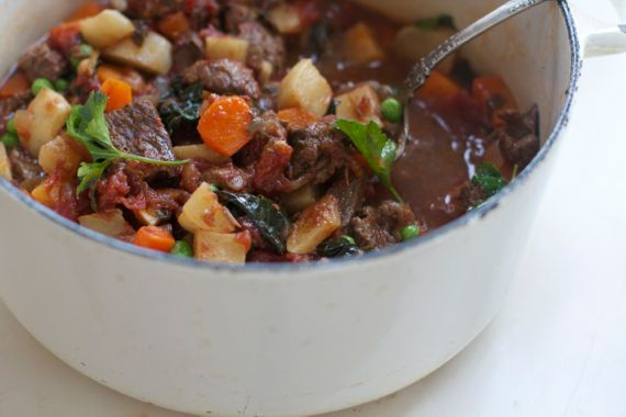 Homemade Italian Beef Stew with Wine, Paleo Friendly ...