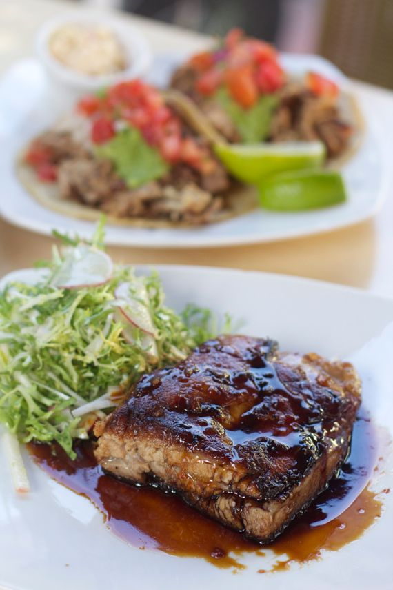 Pork Belly at Carnitas Snack Shack in San Diego by Angela Roberts