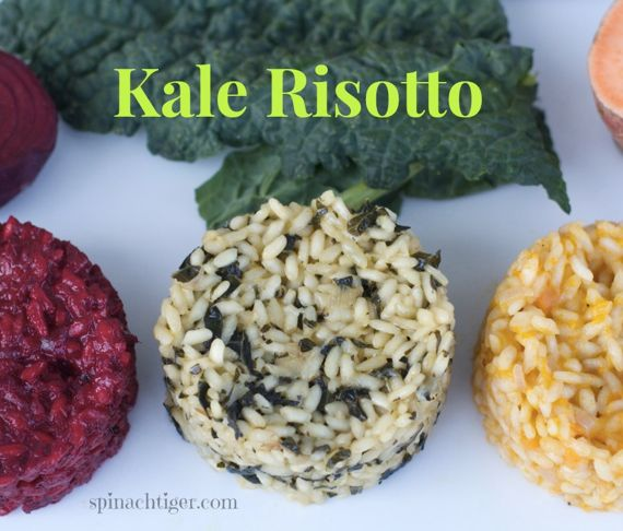 Melted Tuscan Kale Risotto