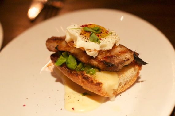 Angela Roberts: Pork Belly at Via Italia in San Diego
