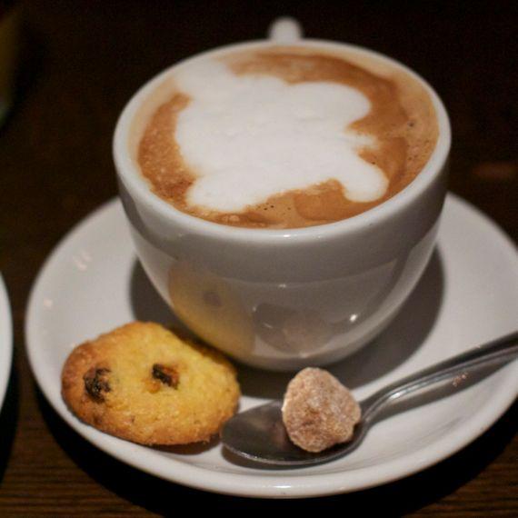 Cappuccino at Via Italia by Angela Roberts