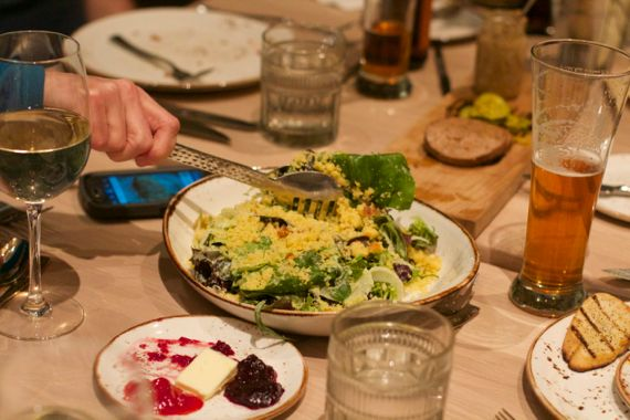 Salad at Kitchen Notes Omni Nashville by Angela Roberts