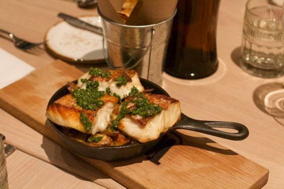 Pan Seared Grouper at Omni Nashville Kitchen Notes by Angela Roberts