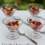 Red Beets & Mango Salad or Dessert by Angela Roberts