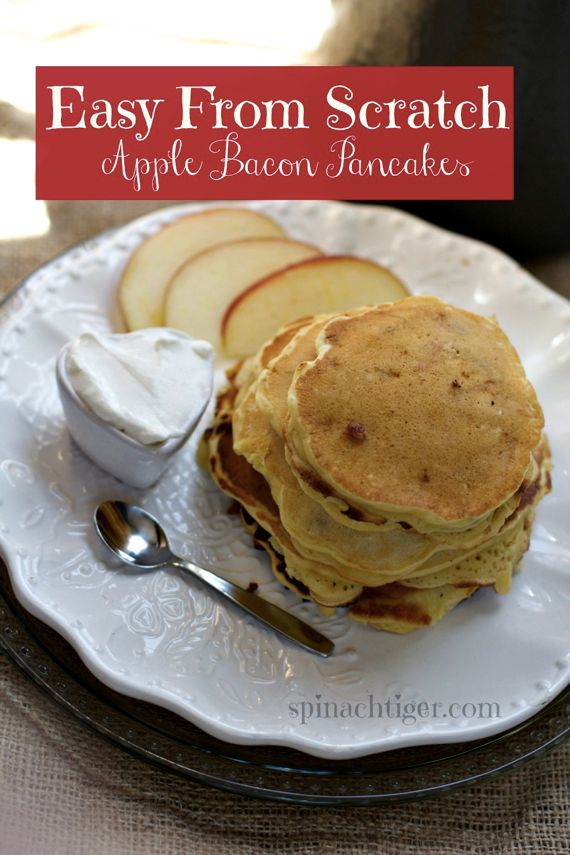 Bacon Apple Pancakes