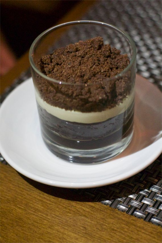 Chocolate Dessert at Moto Cucina Enoteca by Angela Roberts