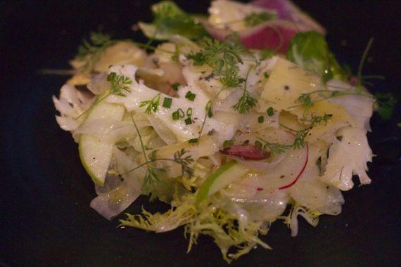 Salad at Moto Cucina Enoteca by Angela Roberts