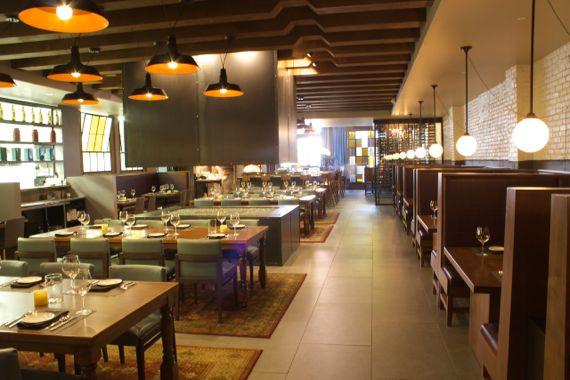 Dining Room at MotoMoto Cucina Enoteca, The New M Street Sexy Italian on the Block