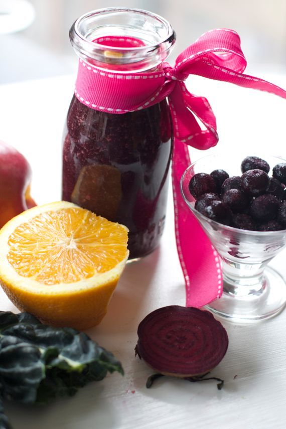 Vitamix Recipe: Cold Fighting Smoothie for Sick Kids with Blueberry, Orange and Kale by angela ro