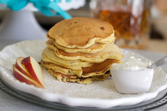 Bacon Apple Pancakes by Angela Roberts
