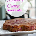 Raspberry Coconut Pound Cake by Angela Roberts