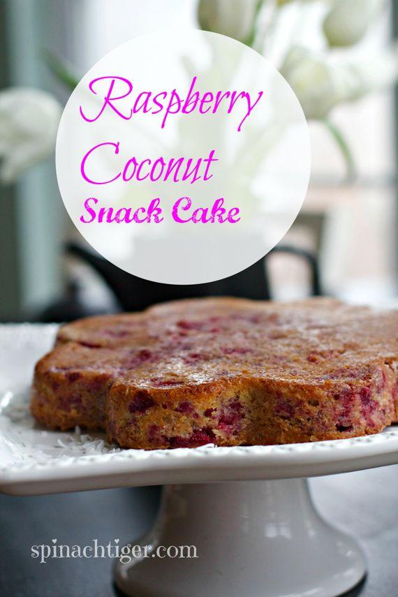 Raspberry Coconut Pound Cake by Angela Roberts