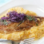 Fish and Sweet Potato Grits by Angela Roberts