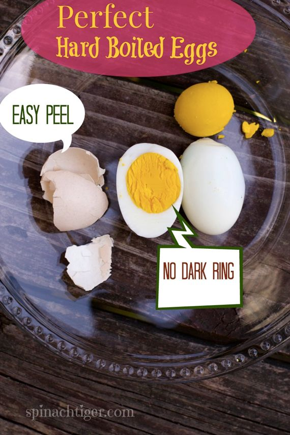How to make perfect easy to peel hard boiled eggs spinach tiger how to make perfect easy peel hard boiled eggs by angela roberts ccuart Choice Image