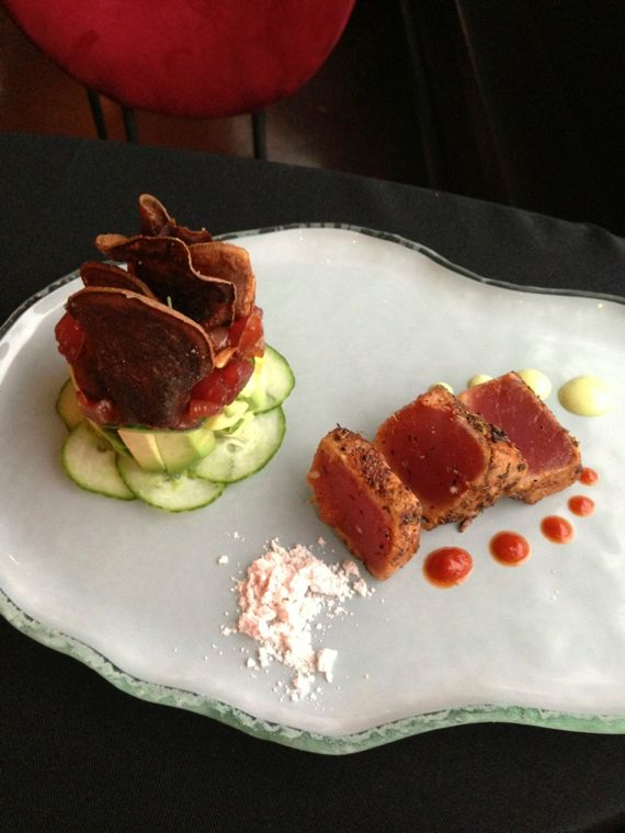 Tuna Two Ways at Bound'ry by Angela Roberts