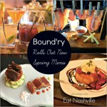 Bound'ry rolls out Spring Menu by Angela Roberts