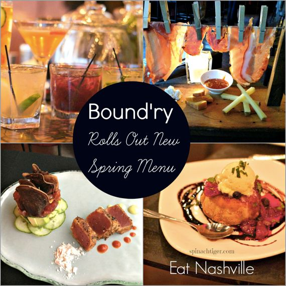 The Bound'ry Introduces New Spring Cocktails and a New Spring Menu