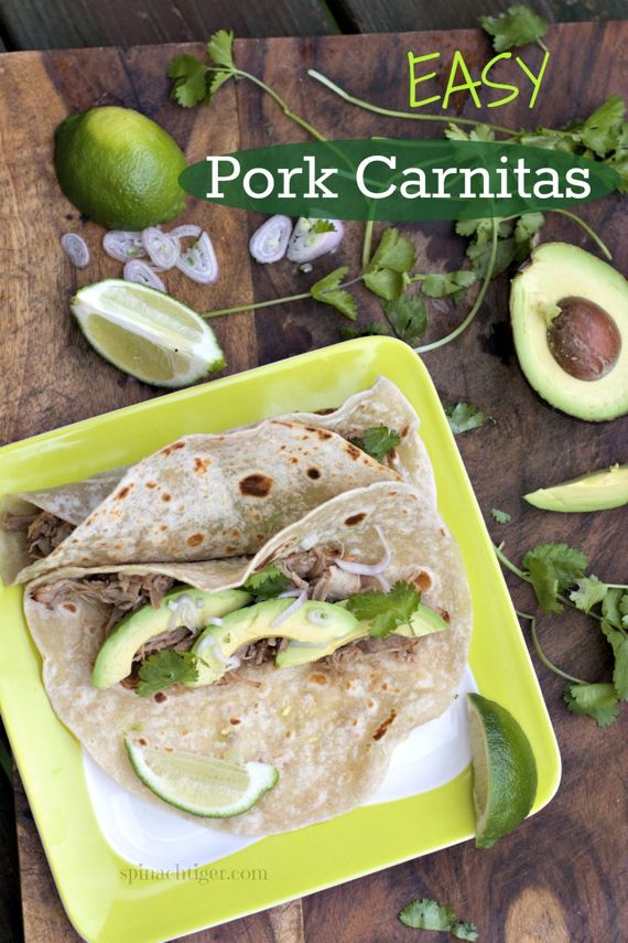 Easy Carnitas in Dutch Oven or Slow Cooker by Angela Roberts