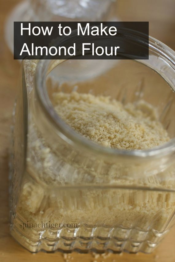 Post image for How to Make Blanched Almond Flour