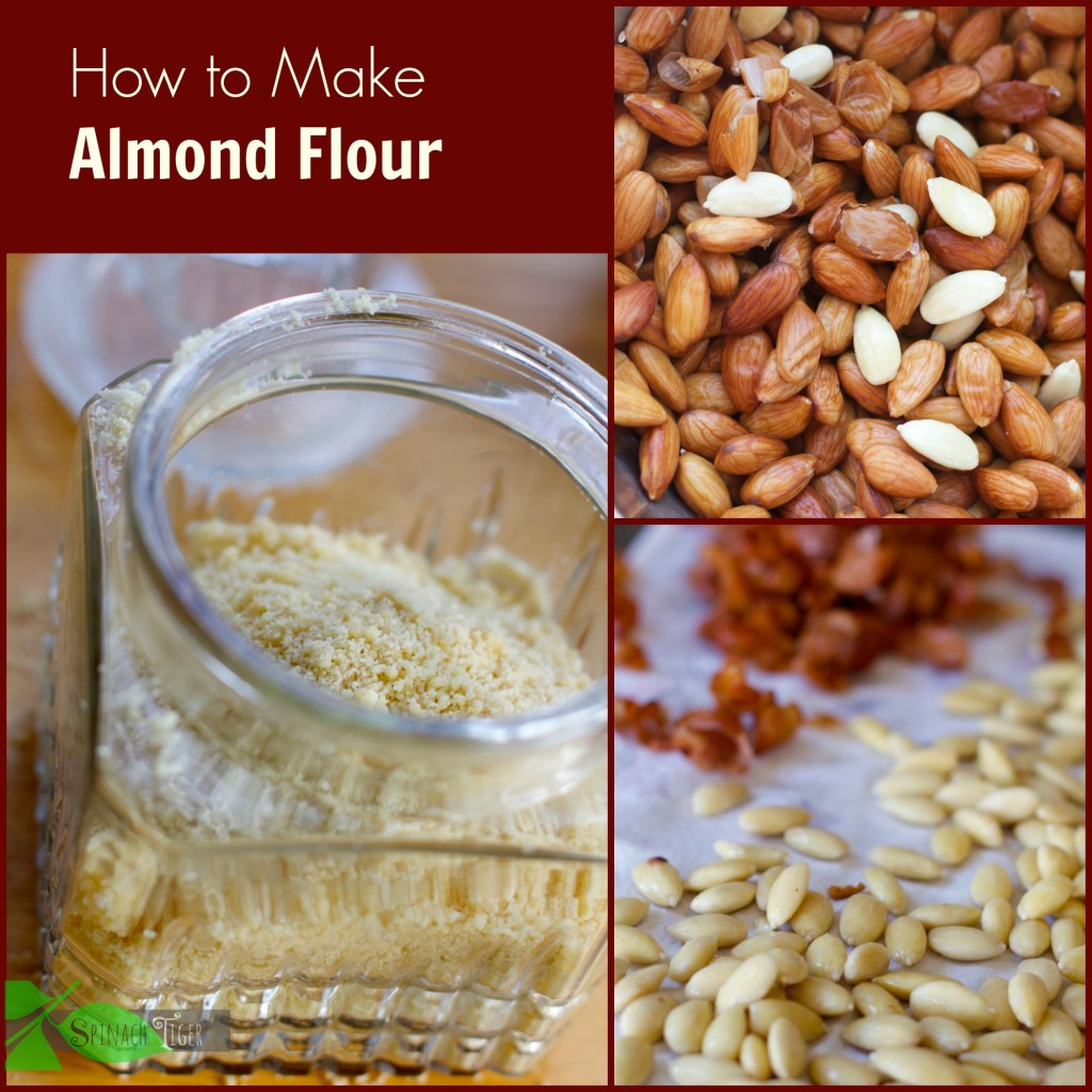 How to Make Blanched Almond Flour - Spinach Tiger