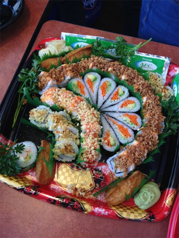 Superb Sushi at Kroger Marketplace by Angeal Roberts