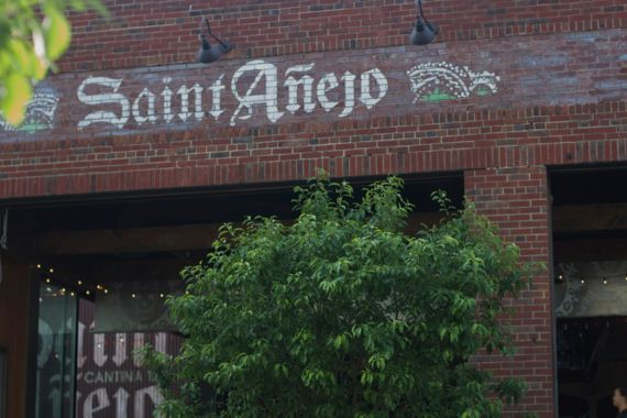 Saint Añejo M Street's Premiere Tex Mex Restaurant in Nashville and a Tequila Tasting Lesson
