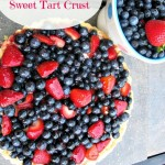 Berry Cream Tart by Angela Roberts