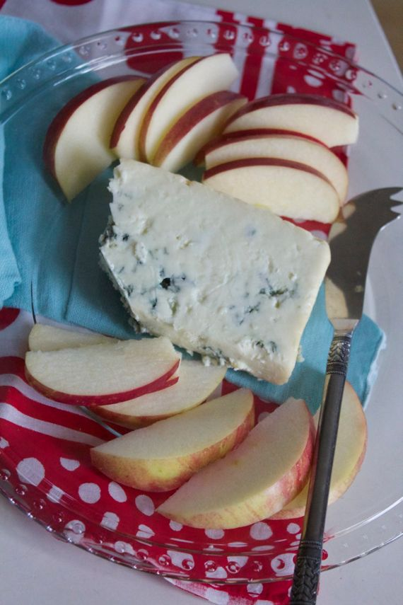 Blue Cheese with Apples from Kroger by Angela Roberts