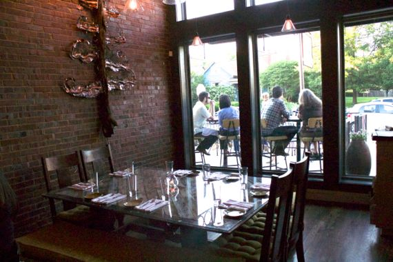 Lockeland Table in East Nashville Iron Fork winner by Angela Roberts