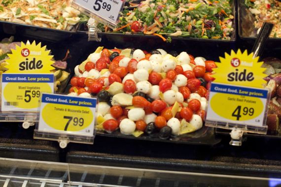 Salads at Kroger Marketplace in Franklin by Angela Roberts