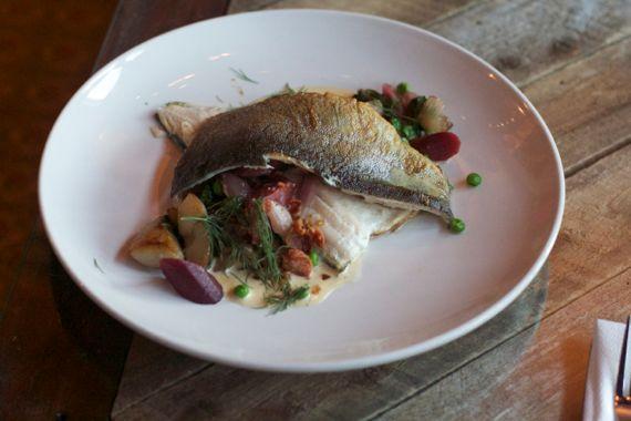 Lockeland Table North Carolina Trout by Angela Roberts