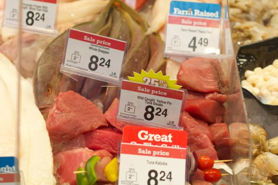 Inspirational Seafood at Kroger Marketplace in Franklin by Angela Roberts
