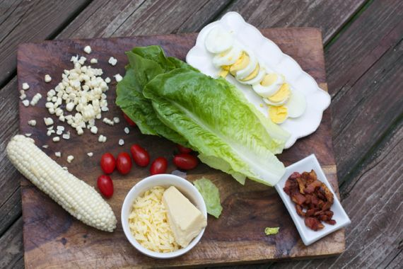Farmhouse Salad with Buttermilk Dressing, the Salad Men Love by Angela Roberts