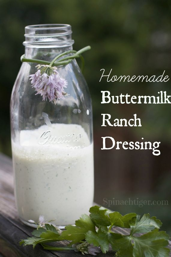 Homemade Buttermilk Ranch Dressing and My Writing Process Blogging Tour