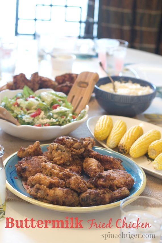 Southern Buttermilk Fried Chicken by Angela Roberts