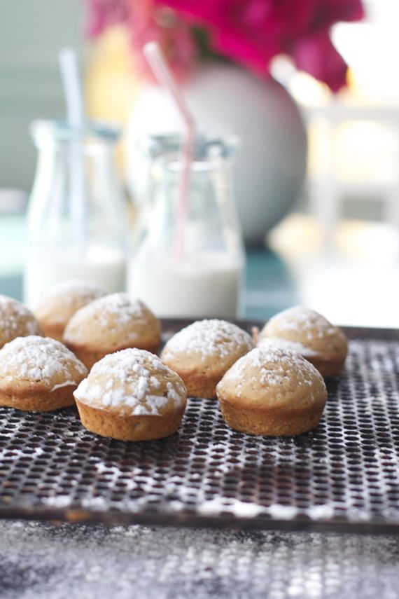 Cake Donut Mini Muffins with Einkorn Flour and Sucanat by Angela Roberts