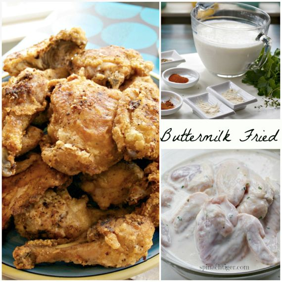 Buttermilk Fried Chicken from Angela Roberts