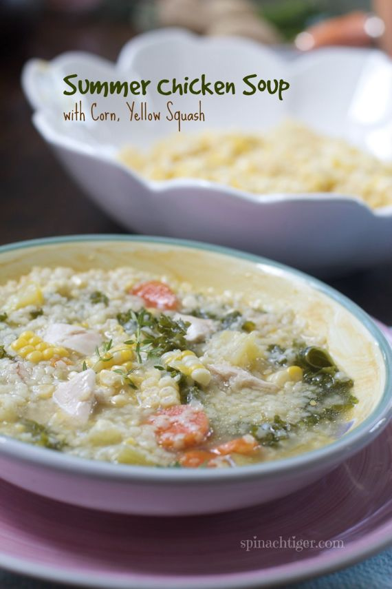 Summer Chicken Soup