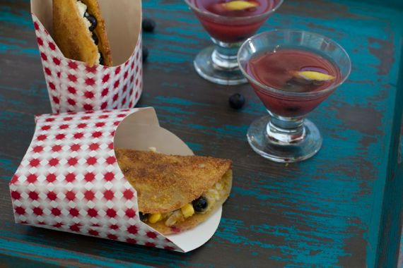Blueberry Cream Cheese Dessert Taco 10 by Angela Roberts