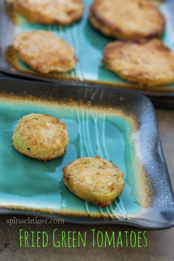 Fried Green Tomatoes by Angela Roberts