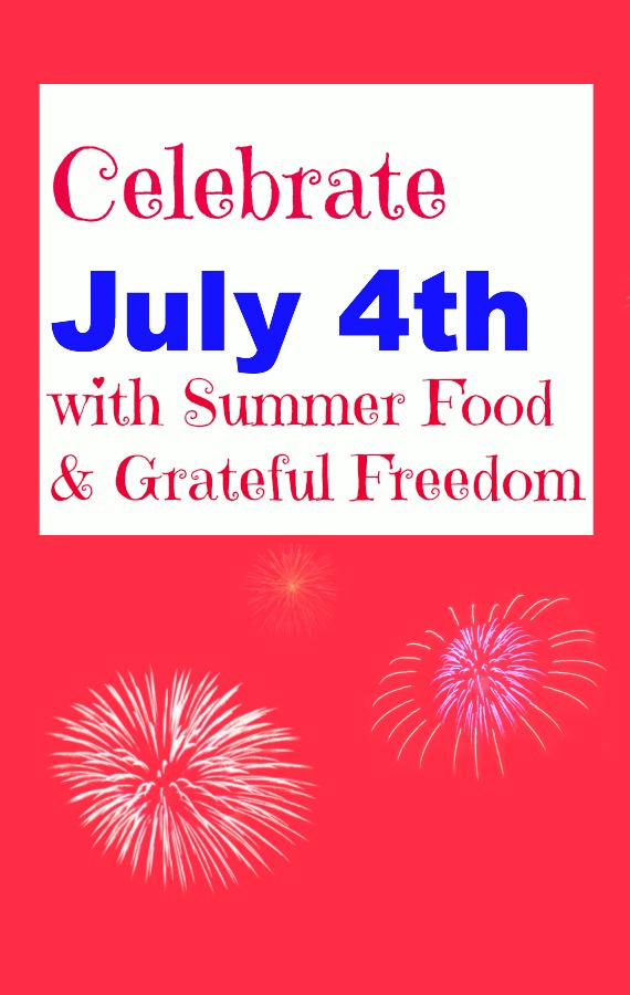 Post image for July 4th Summer Food for Thought, Freedom to Write